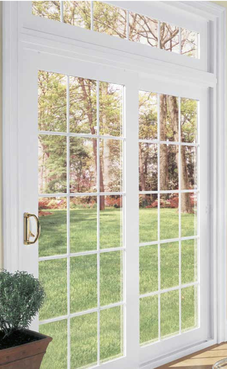 Sliding glass doors maryland washington dc and virginia for Sliding glass doors that look like french doors